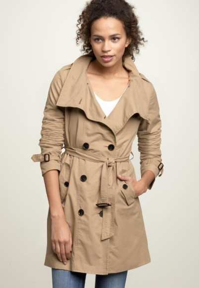Gap Funnel neck trench coat