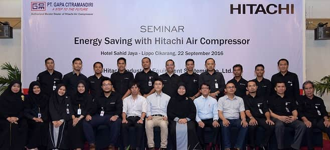 Distributor air compressor Batam