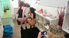 Dani Daniels anal toying with Asa Akira