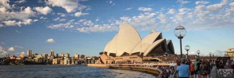 Spacer po Sydney