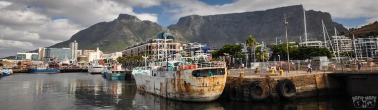 Spacer po Kapsztadzie