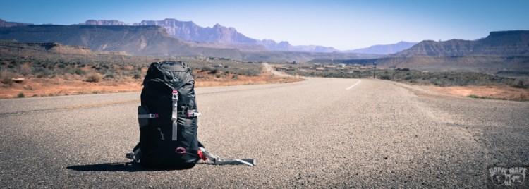 Plecak w podróży dookoła świata