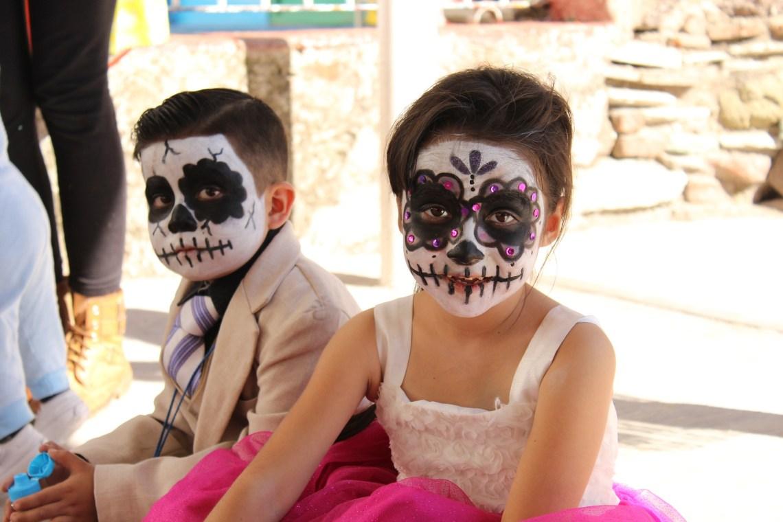 makijaż na dzień zmarłych w meksyku