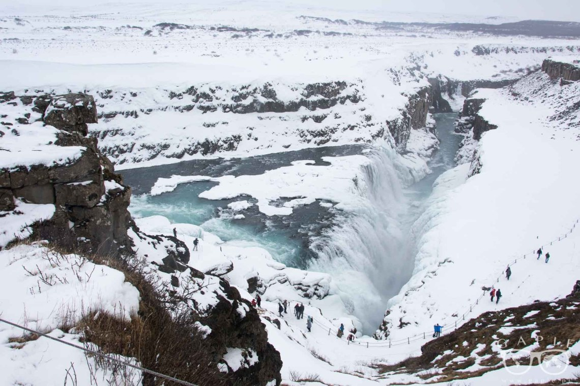 Gulfoss winter