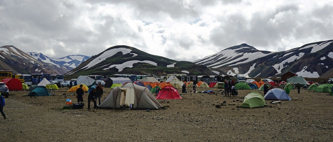 W tent Iceland