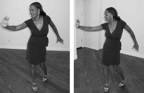 Dancing to some great salsa music by Los Van Van