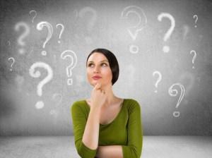 Image of woman thinking