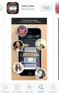 Image of Silent Circle Text Screenshot