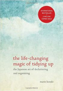 "Photo of ""The Life-Changing Magic of Tidying Up book by Marie Kondo"