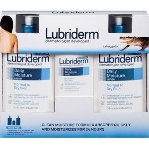 Image Lubriderm 3 pack lotion from Costco