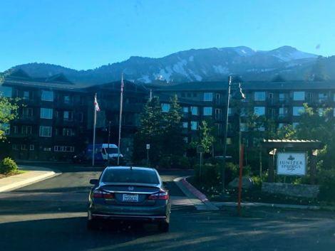 Front of Juniper Springs Resort