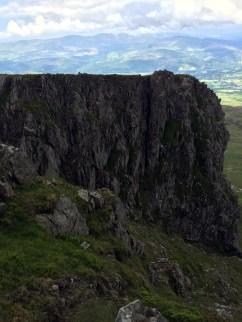 Cliffs at Mynydd Moel