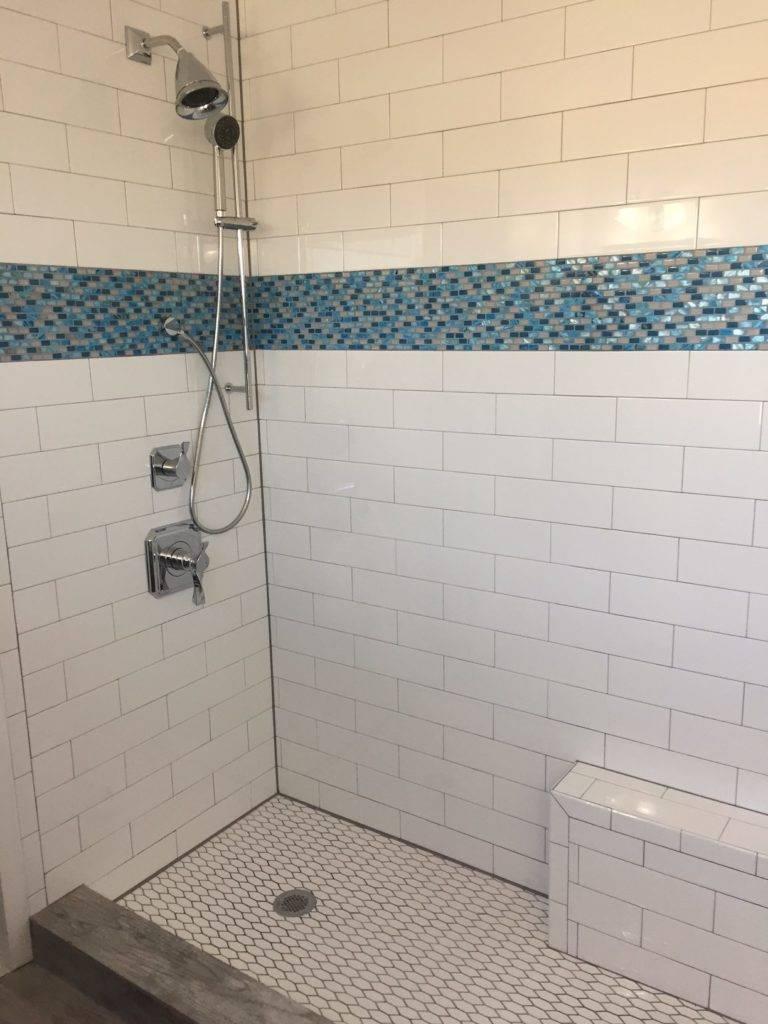 bathroom tile borders