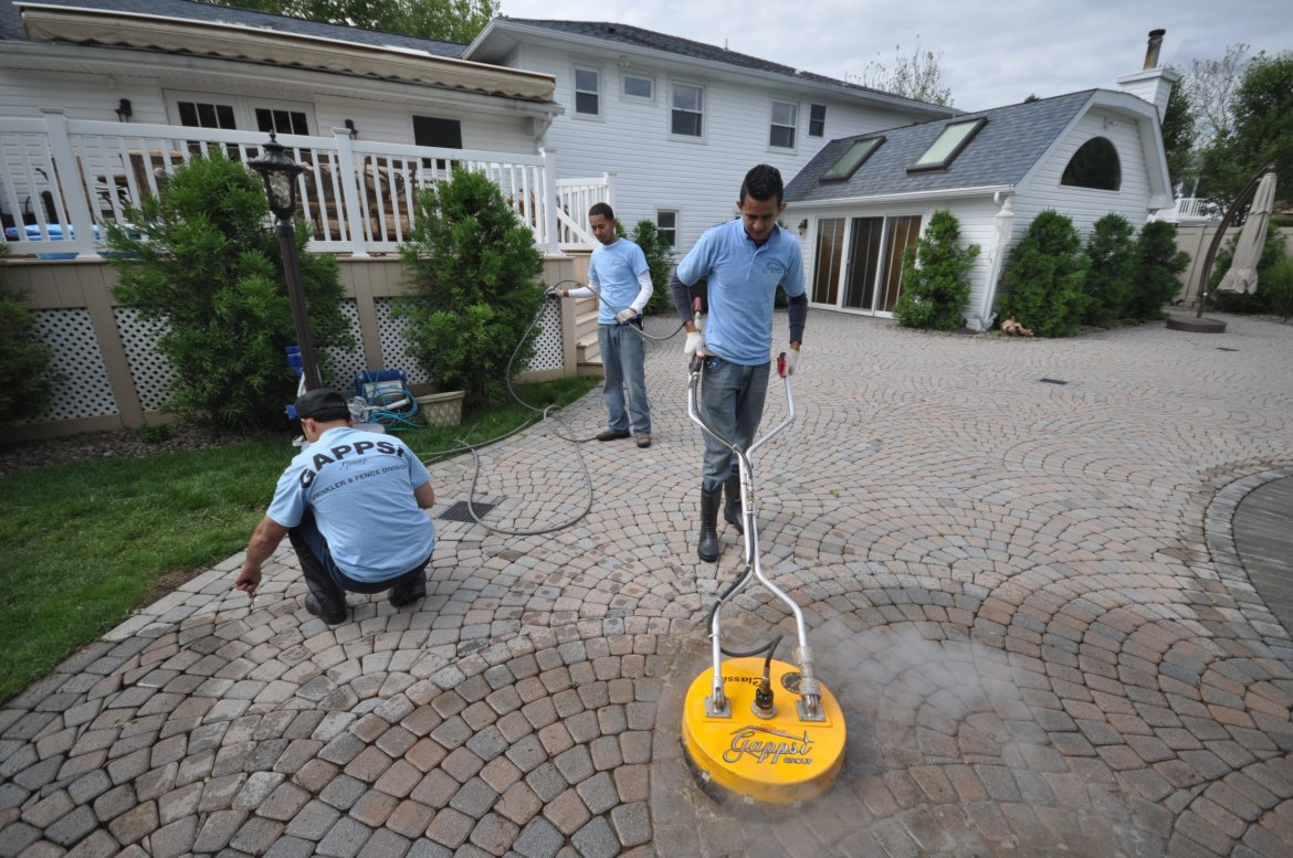 paver cleaners long island NY Gappsi