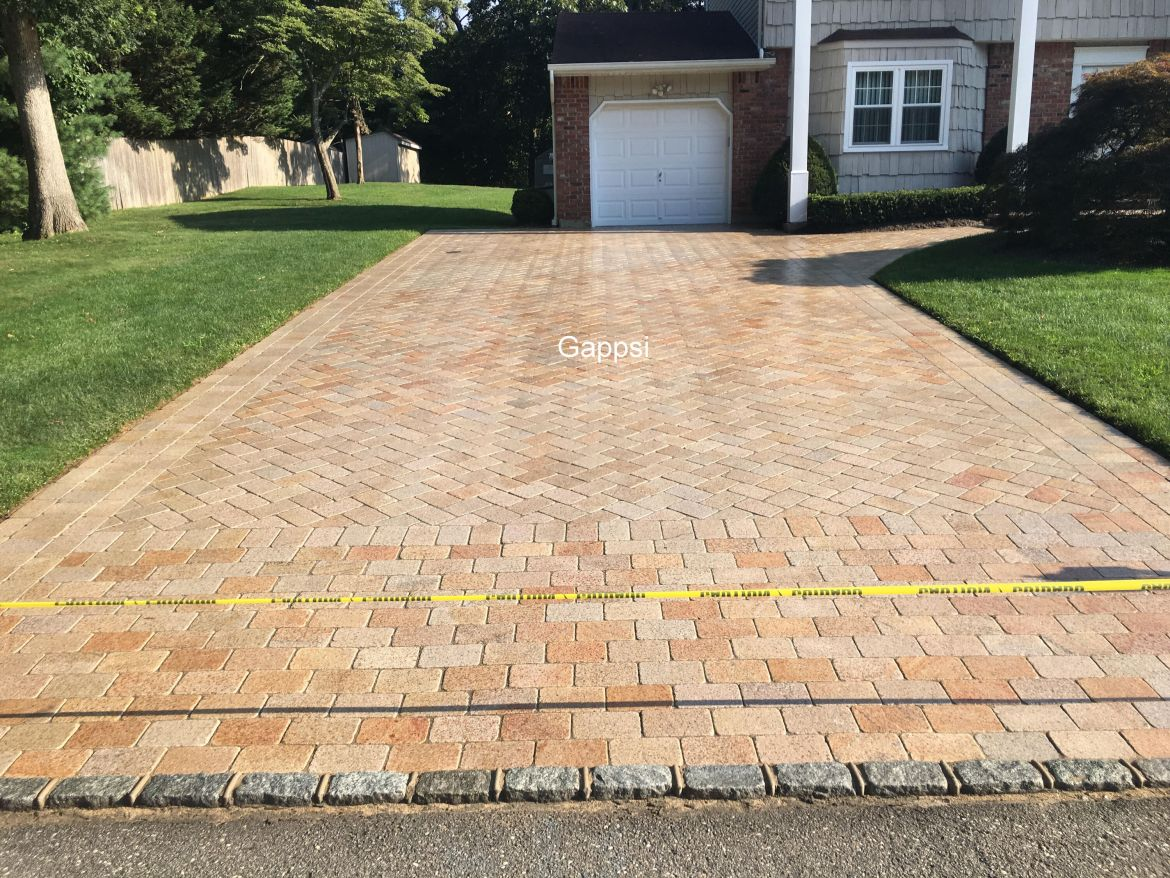 Granite Driveway Smithtown NY sealed by Gappsi