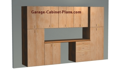 About garage cabinet plans for Build your own garage plans free
