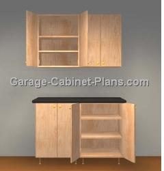 Plywood Garage Cabinet Plans garage cabinet plans - creditrestore