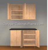 Easy 4 ft Garage Cabinet Plans