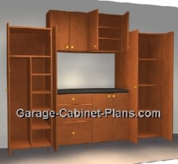 DIY Garage Cabinet Plans - You can build these!