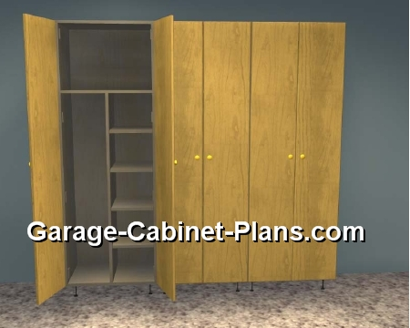 6 Ft Garage Storage Towers 15 Quot Deep Garage Cabinet Plans