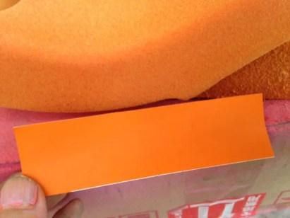 オレンジ 調色フロッキー
