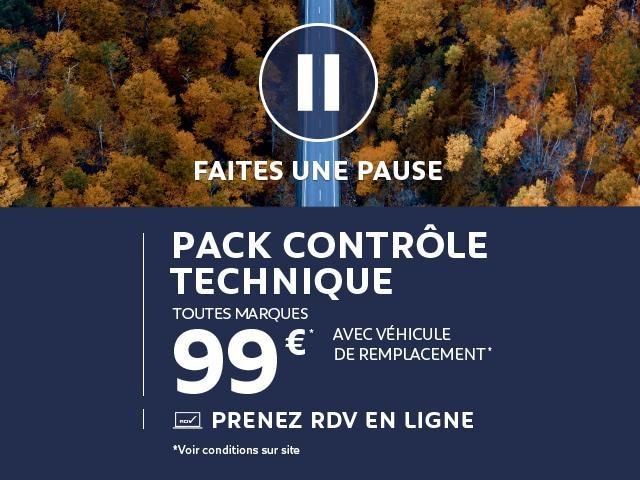 Pack contrôle technique