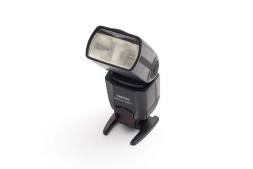 これは知っておきたい!YN 560 IIIの「照射角別」の光の回り方