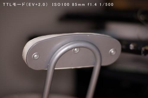 TTLモード(EV+2.0) ISO100-85mm-f1.4_500