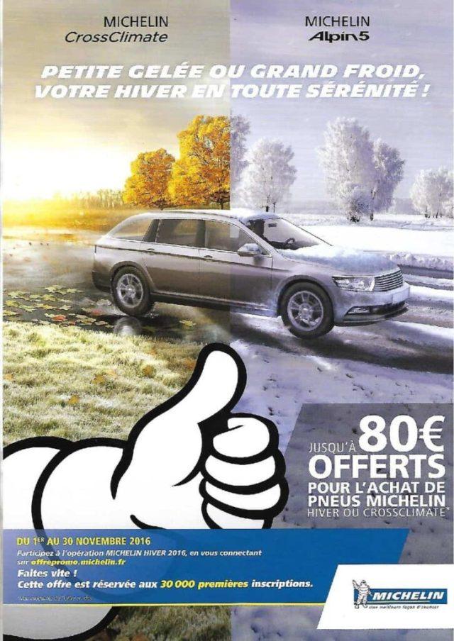 Une offre spéciale sur les pneus hiver au garage MECADOMS 81 de Mazamet