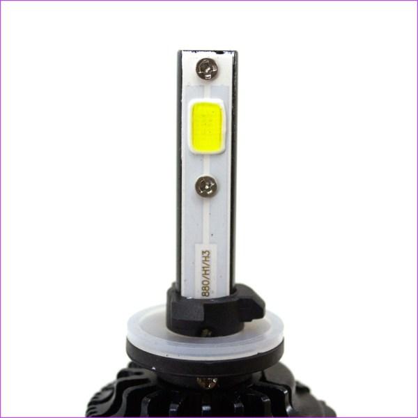 LED лампа GALAXY COB H27 5000K, LED лампа GALAXY COB H27 5000K установка, LED лампа GALAXY COB H27 5000K монтаж
