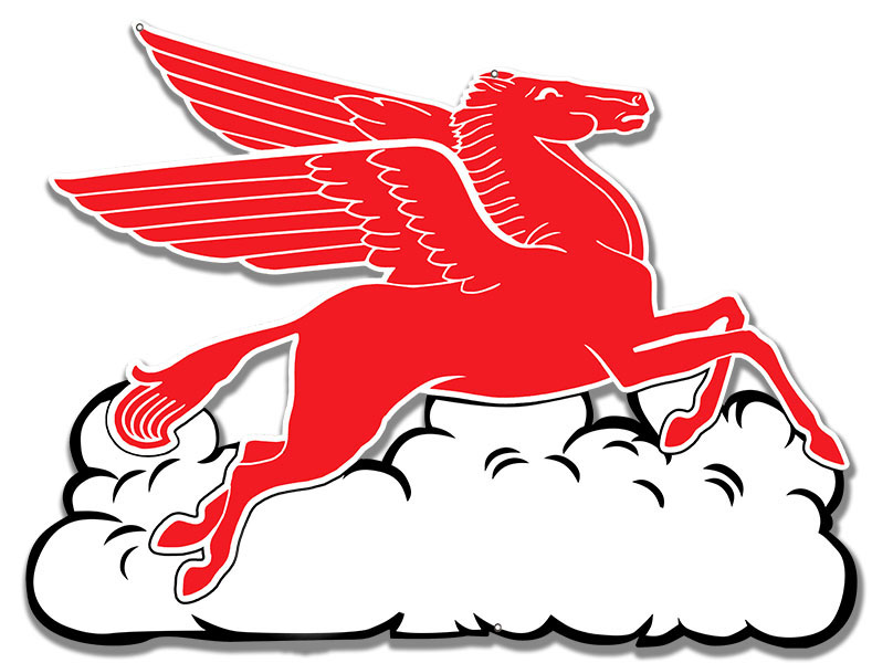 RG6605PP- Pegasus Flying Horse With Cloud
