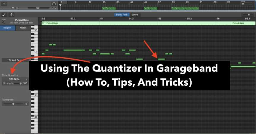 Using The Quantizer In Garageband (How To, Tips, & Tricks