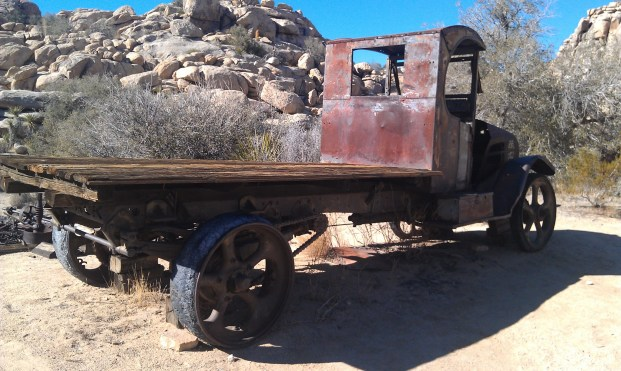 Old Truck Desert Queen Ranch Joshua Tree