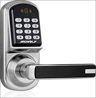 keypad garage door locks