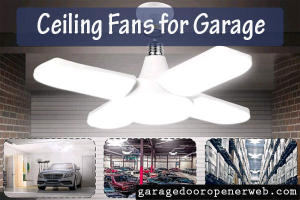 ceiling fans for garage
