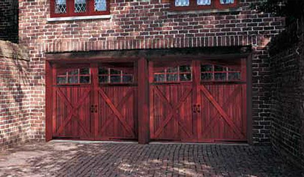 Wood Door - Red Barn