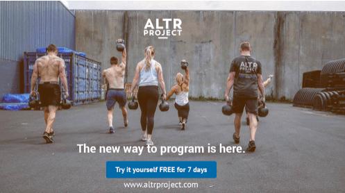 Find programming u2013 garage gym experiment