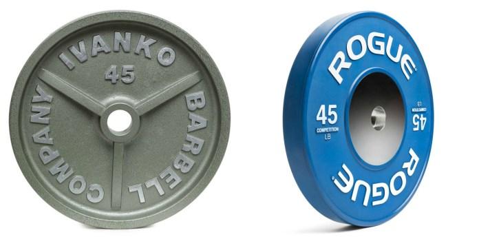 Iron/Steel Plates vs. Bumper Plates
