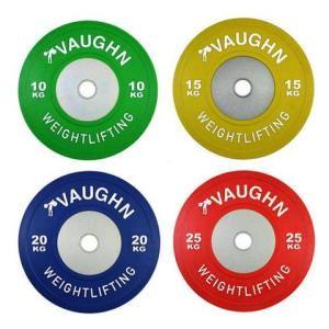 Vaughn Weightlifting Color Comp Bumpers