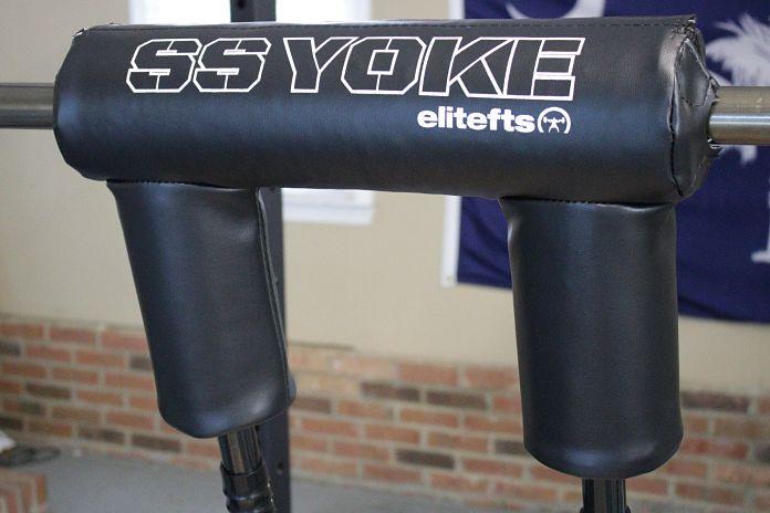 Elitefts safety squat bar review garage gym lab