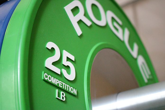 Rogue Competition 25 lb Bumper Plate