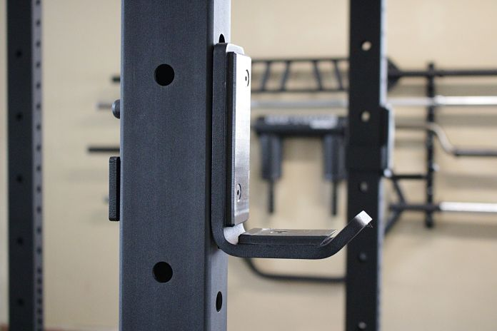 Garage gym week reno titan fitness power rack rogue bumpers and