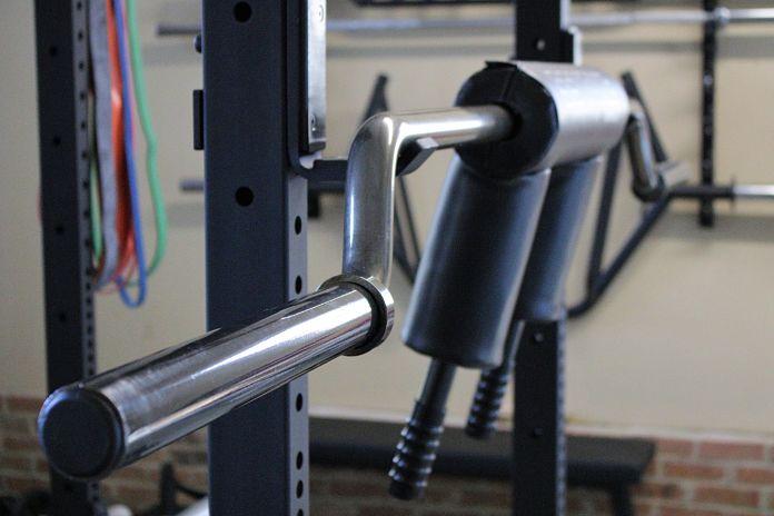 EliteFTS SS Yoke Bar Profile in Garage Gym