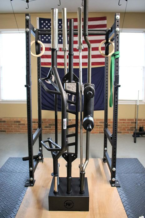 Quick review rep fitness bar vertical storage garage gym lab