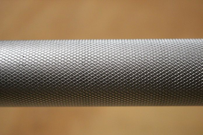 Fringe Sport Weightlifting Bar Center Knurling