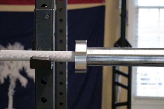 Fringe Sport Weightlifting Bar Matte Chrome