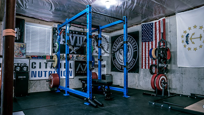 Brandon Campbell Home Gym