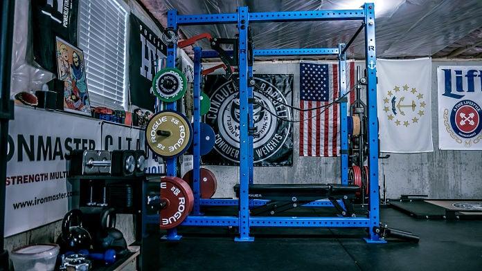 Brandon Campbell Home Gym Garage Gym Lab