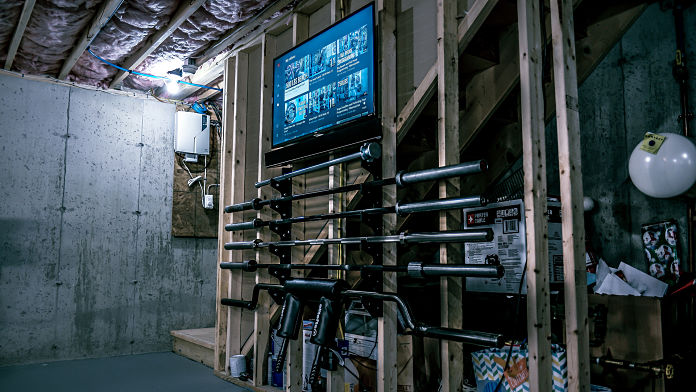 Brandon Campbell Home Gym 3 Garage Gym Lab