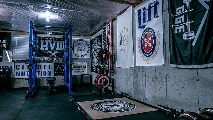 Brandon Campbell Home Gym 4 Garage Gym Lab